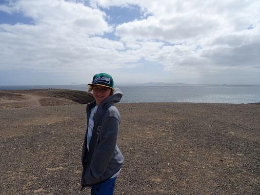 Blick von oben an der Playa de Papagayo