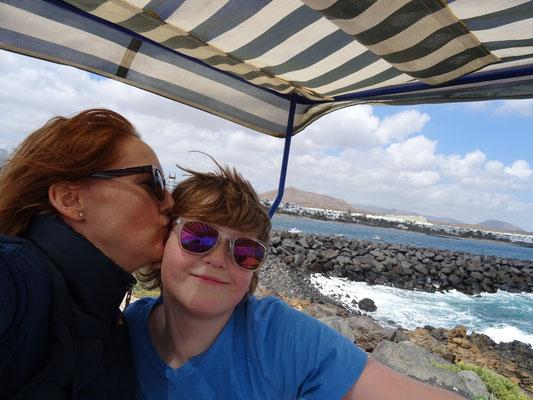 Erster Tag auf Lanzarote