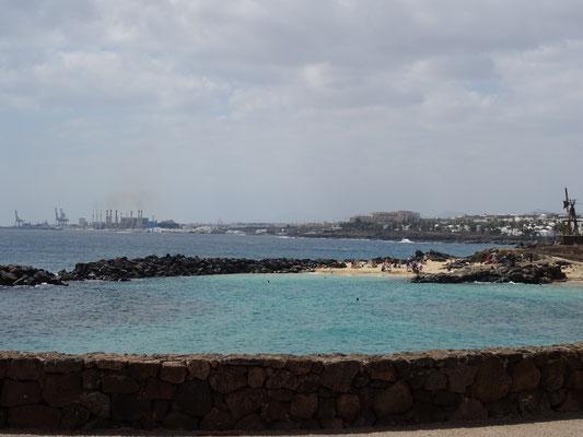 Blick auf die Inselhauptstadt Arrecife