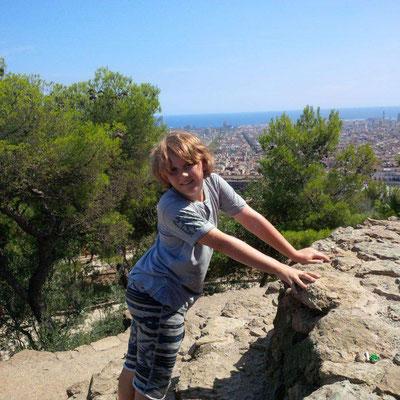 Barcelonaaaa - vom Park Guell aus