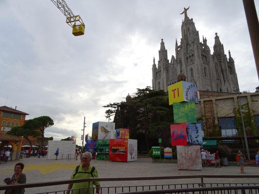 La Sagrada Corazon auf dem Tibidabo