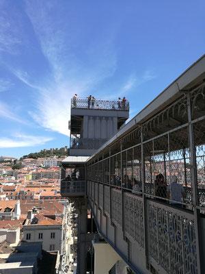 Der berühmteste Aufzug von Lissabon