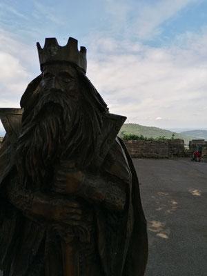 Der König lässt grüßen