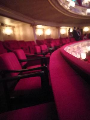 Loge in der Komischen Oper in Berlin