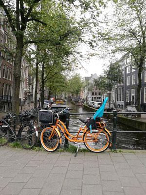Fahrräder und Grachten