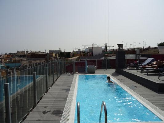 Unser Hotel mit Pool