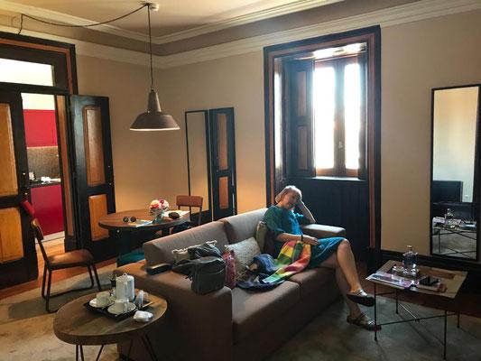 Zwischendurch braucht der Mensch mal eine Pause - und wo geht das besser als in unserem schönen Apartment