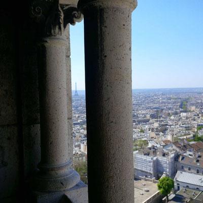 Blick von der Kuppel des Sacré-Coeur