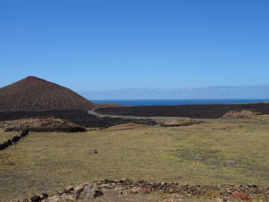 Den Weg der Lava bestaunen