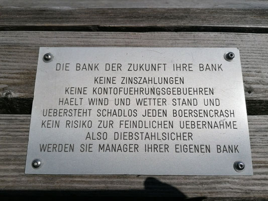 Schwarzwald | Hausacher Bergsteig | Bank des Lebens