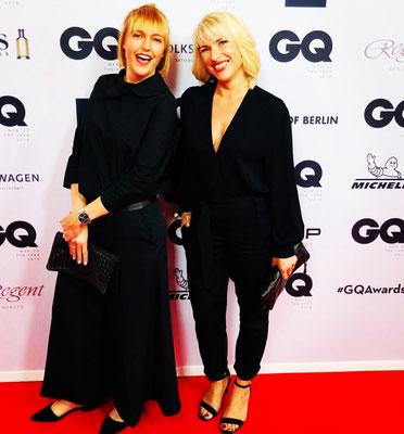 Ich mit meiner wunderbaren Chefin Stephanie Söhnle vom Bruno Söhnle Uhrenatelier Glashütte/Sa.