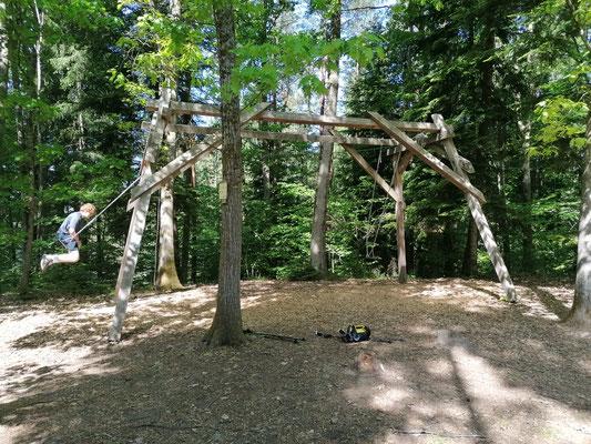 Schwarzwald | Hausacher Bergsteig | Noch auf dem Abenteuerpfad