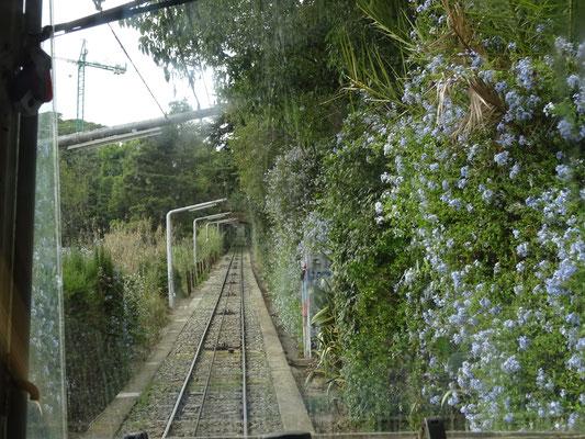 Die Funicular del Tibidabo - eine Standseilbahn