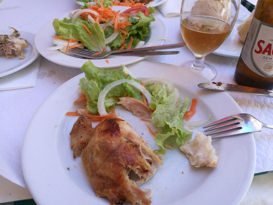 Das bekannteste Hühnchen von Lissabon - hat geschmeckt!!