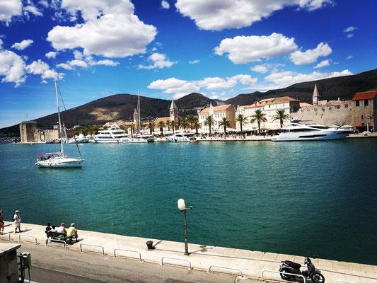 Wunderschönes Trogir - Blick aus unserer Pension