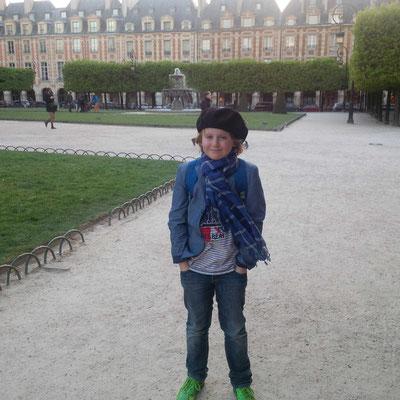 Mein kleiner Franzose im Parc des Vosges