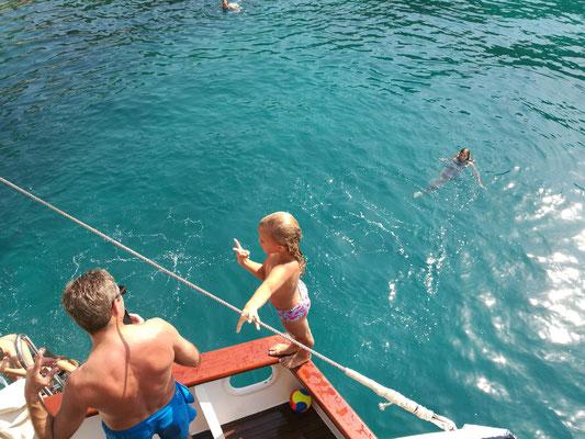Die Wassermäuse - springen von Bord