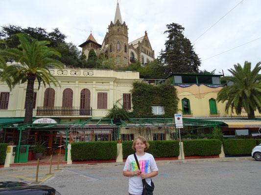 Auf dem Weg zum Tibidabo