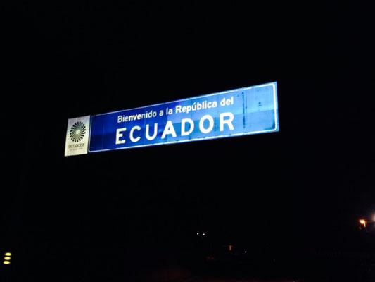 Bye bye, Ecuador...