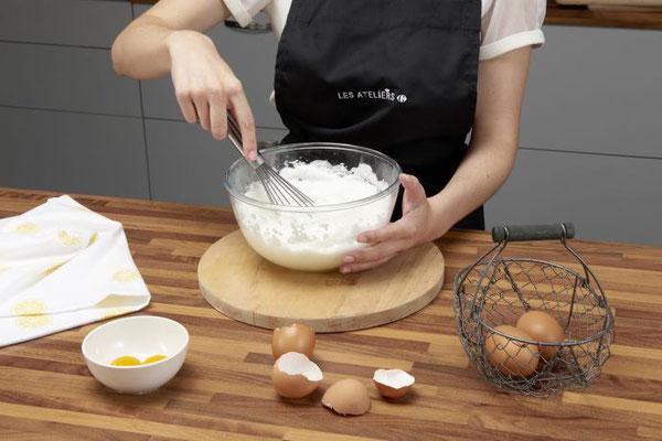 Cours de Cuisine et de Patisserie Cook'Odile - Carrefour - #lesatelierscarrefour