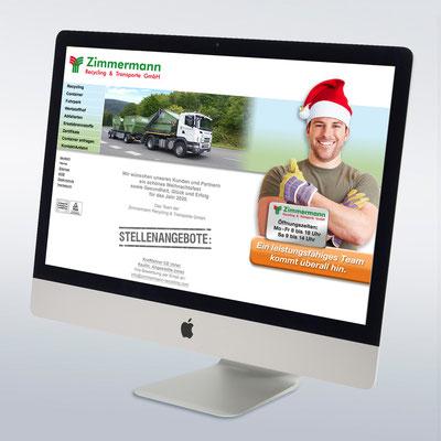 Zimmermann Recycling (designwerkstatt/Werbeagentur Kohn)