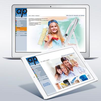 Alpfa GmbH, Haushaltswaren  (Werbeagentur Kohn)
