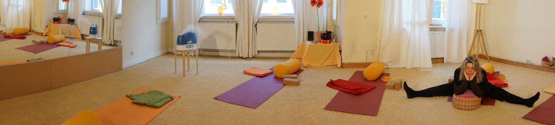 Yoga im Centrum für Tai Chi, Qi Gong, Yoga und Körperarbeit