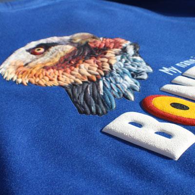 Diseños para prendas de diversas marcas, eventos y proyectos.  Merchandising y productos para empresas, centros de visitantes, eventos. Diego Ortega Alonso