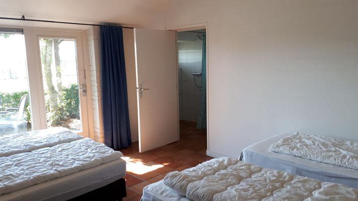 Moréne Hoeve - blauwe kamer