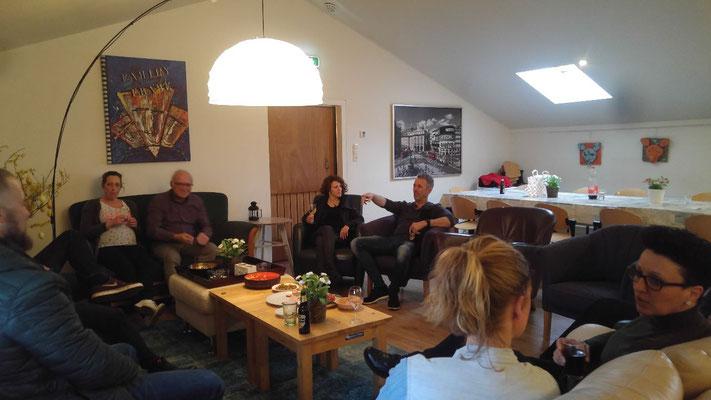 Morene Hoeve - gezelligheid in de woonkamer
