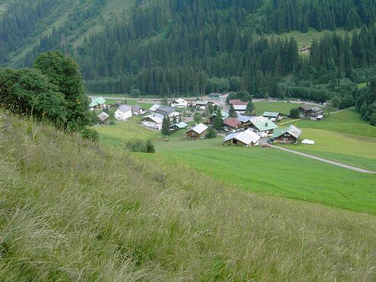 Ort Baad Kleinwalsertal
