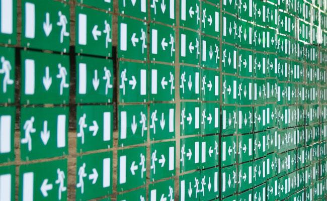 Ou Cours-je ? / Technique Mixte / Surface : 21 m² /   © Michel LAURENT