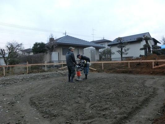 大橋工務店 K邸新築日記 地盤改良