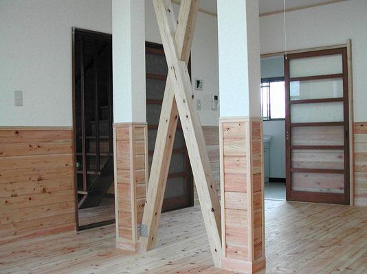 大橋工務店による耐震化工事