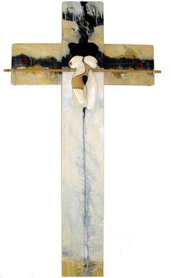 Female crucyfied