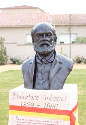 Sculpture-buste-statue-bronze-sulpteur-Langloys-Théodore-Aubanel