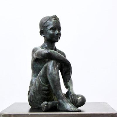 Sculpteur, Langloys, Buste, Petit Baigneur