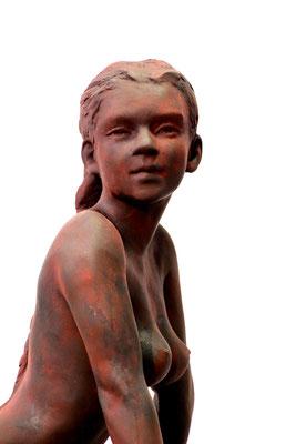 Sculpture, Sculpteur Langloys, Nu, Bronze, Calliope