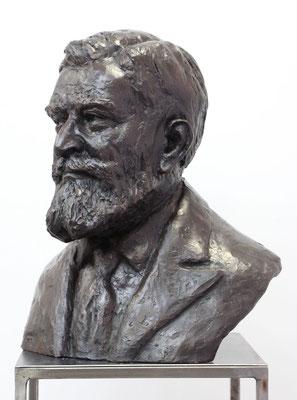 Buste, Buste d'après photos, buste en bronze, sculpteur Langloÿs