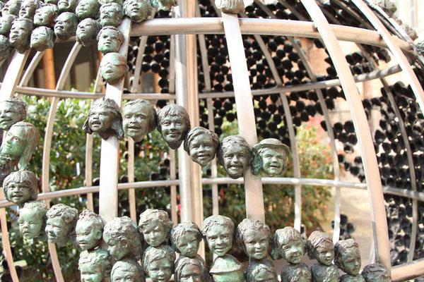 Sculpture-buste-statue-SculptureMonumentale-bronze-sulpteur-Langloys-RegardsdEnfants