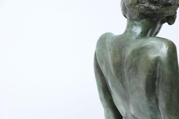 Sculpteur, Langloys, Nu, Bronze, Le Songe