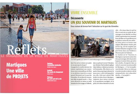 Article, sculpteur Sébastien Langloÿs