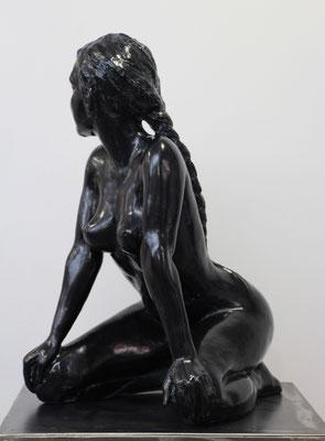 Sculpteur, Langloys, Nu, Bronze, Calliope