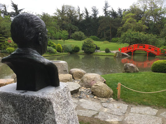 Sculpture-buste-statue-bronze-sulpteur-Langloys-Pierre-Baudis
