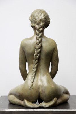 Sculpteur, Langloys, Nu, Bronze, Polymnie
