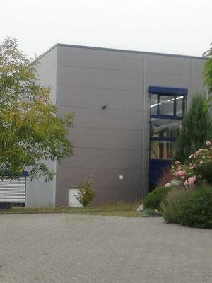 Neubau Produktionshalle in Obersulm, Fenster