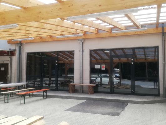 Umbau Schützenverein in Sersheim, Fenster und Eingangselemente