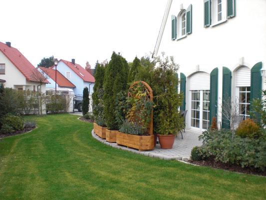 gemähter Rasen Gartenpflege Rübner
