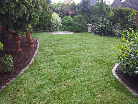 gepflegter Garten Rübner