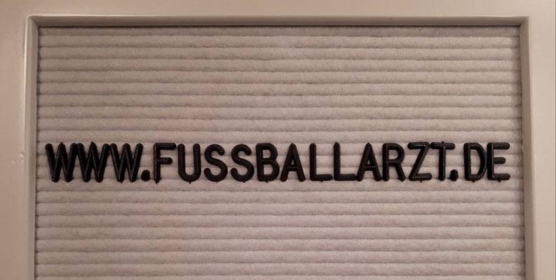 www.fussballarzt.de